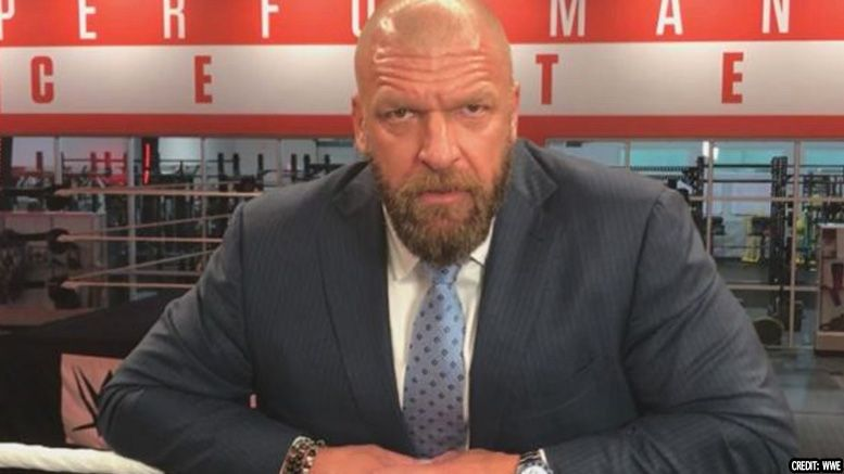 Triple H wwe performance center bobby roode
