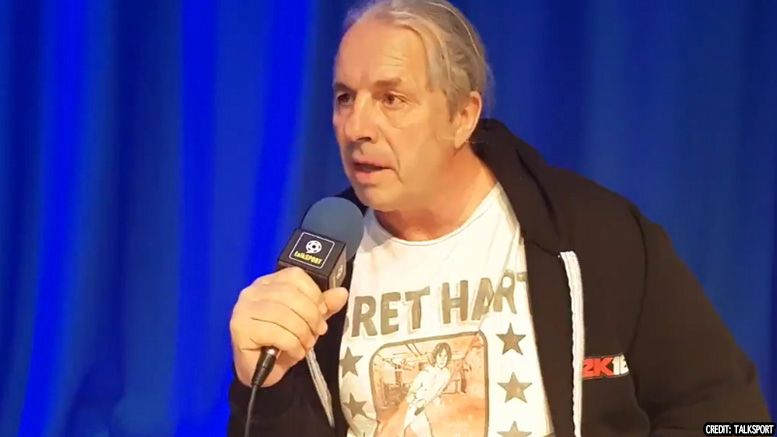 bret hart eric bischoff 83 weeks podcast interview video