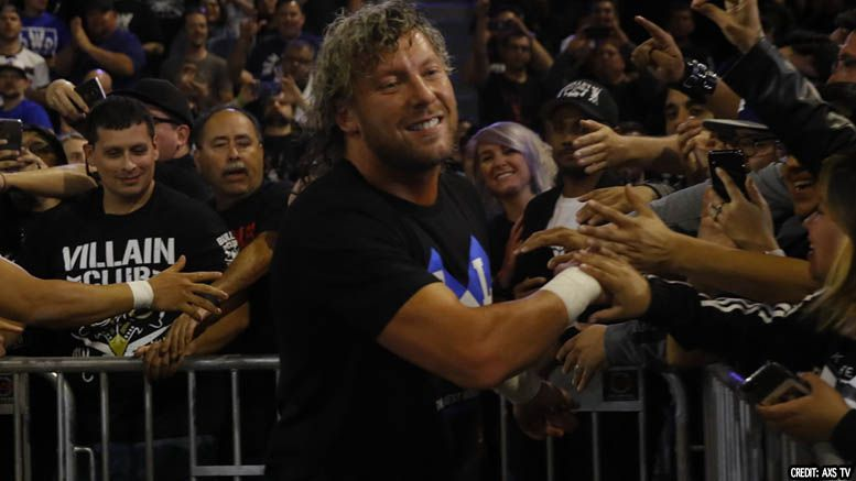 kenny omega wwe njpw working relationship interview audio