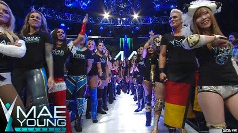 mae young classic ii filming dates revealed
