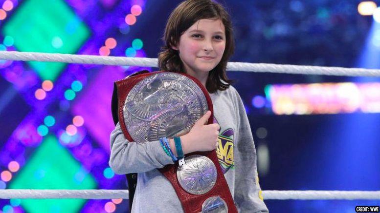 nicholas raw tag champion first public appearance donut king