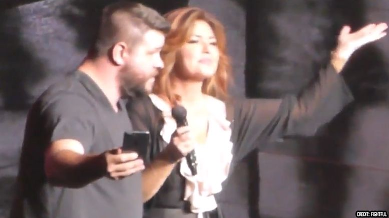 kevin owens shania twain video wwe concert request