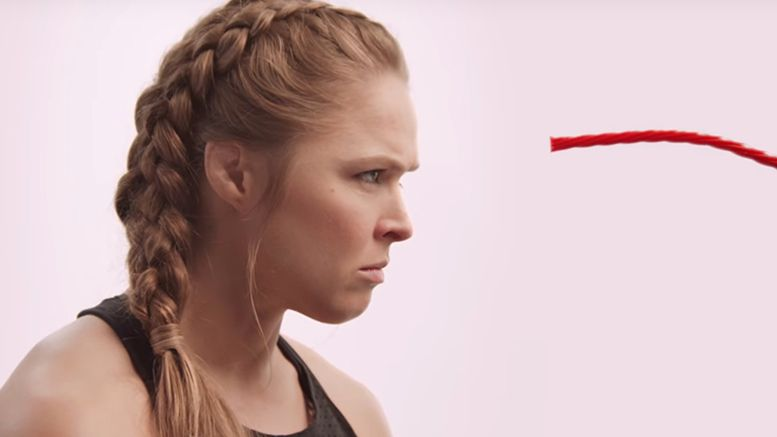 ronda rousey twizzlers commercial