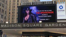 undertaker madison square garden msg wwe