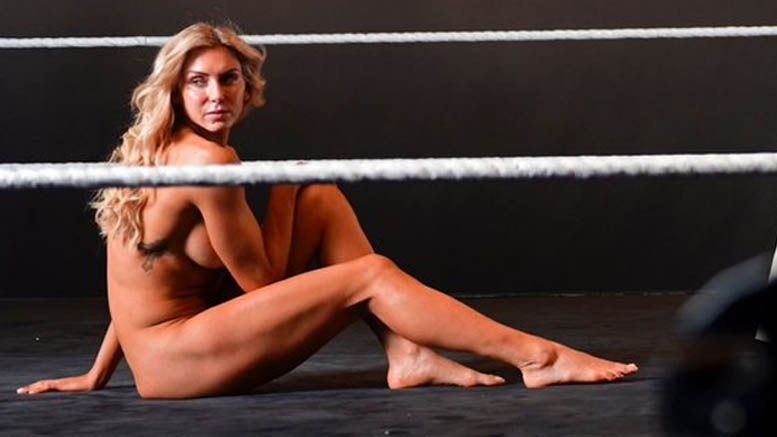 charlotte flair espn body issue photo