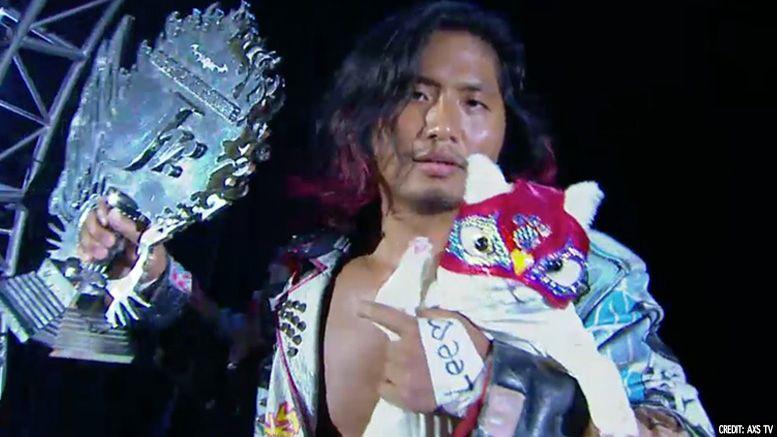 Hiromu Takahashi new japan njpw medical update neck
