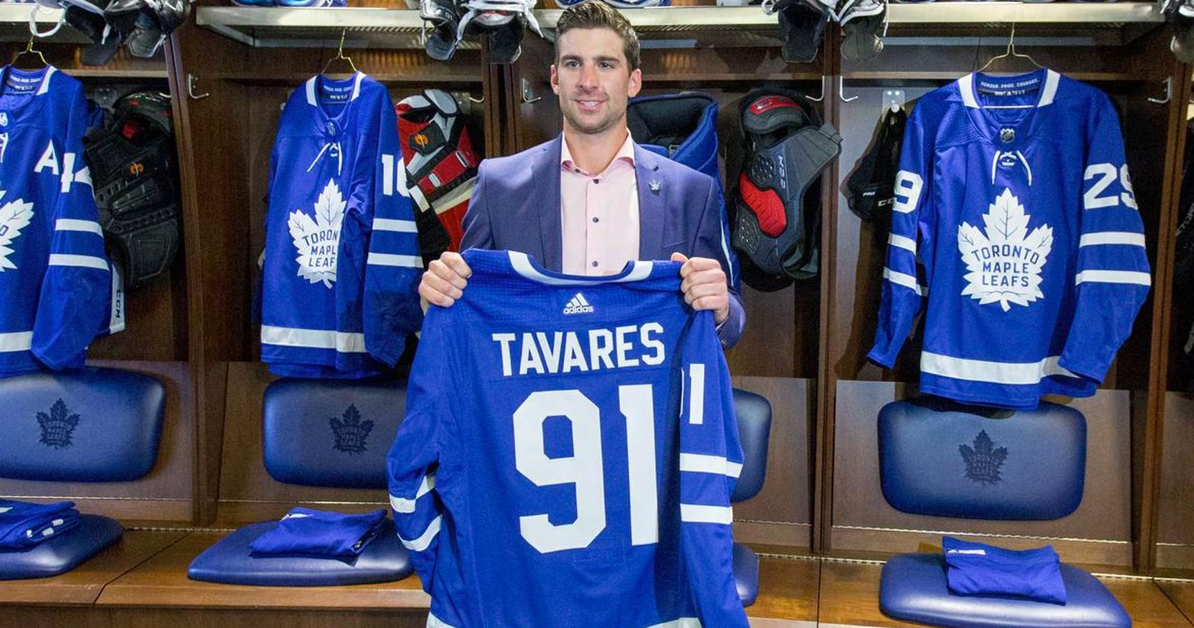3298d337e Islanders Fan Hilariously Updates The Wikipedia Page Of John Tavares  Uncle