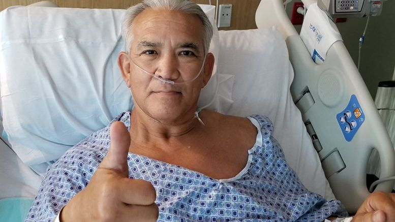 ricky steamboat hip surgery