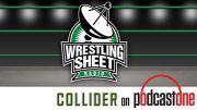 wrestling sheet radio collider art