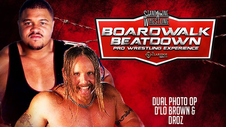 droz dlo brown meet and greet photo opportunity stand alone wrestling boardwalk beatdown