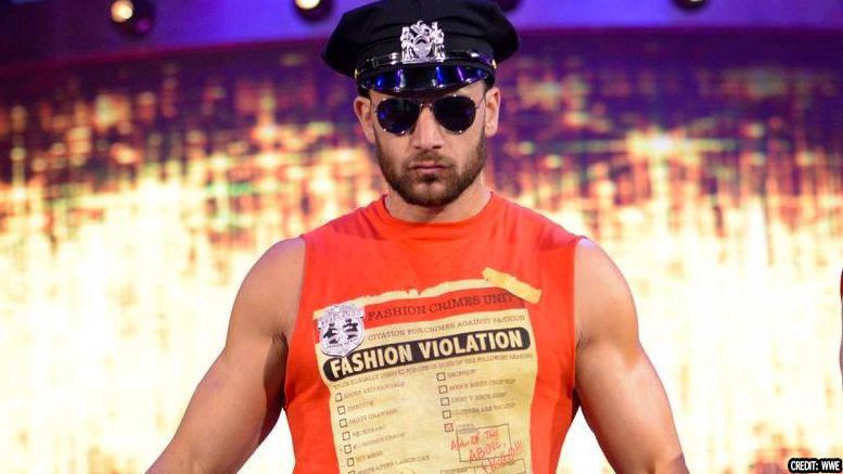 fandango wwe injured fashion police