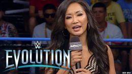 gail kim wwe evolution not interested impact wrestling