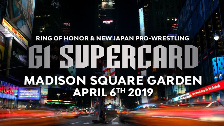 ring of honor madison square garden new japan njpw