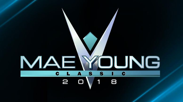 broken leg mae young classic announcers renee young beth phoenix