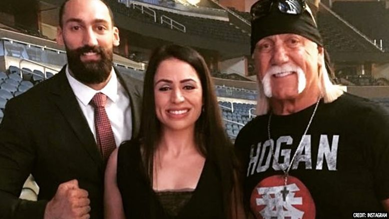 hulk hogan smackdown live backstage attended