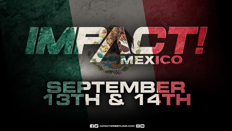 impact wrestling mexico tapings