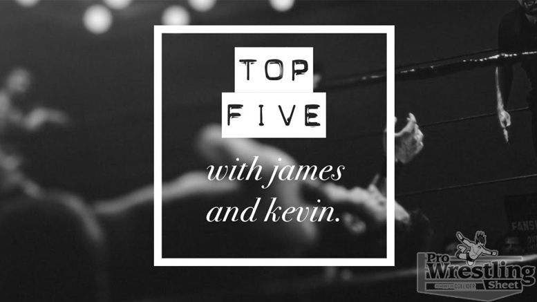top 5 james kevin