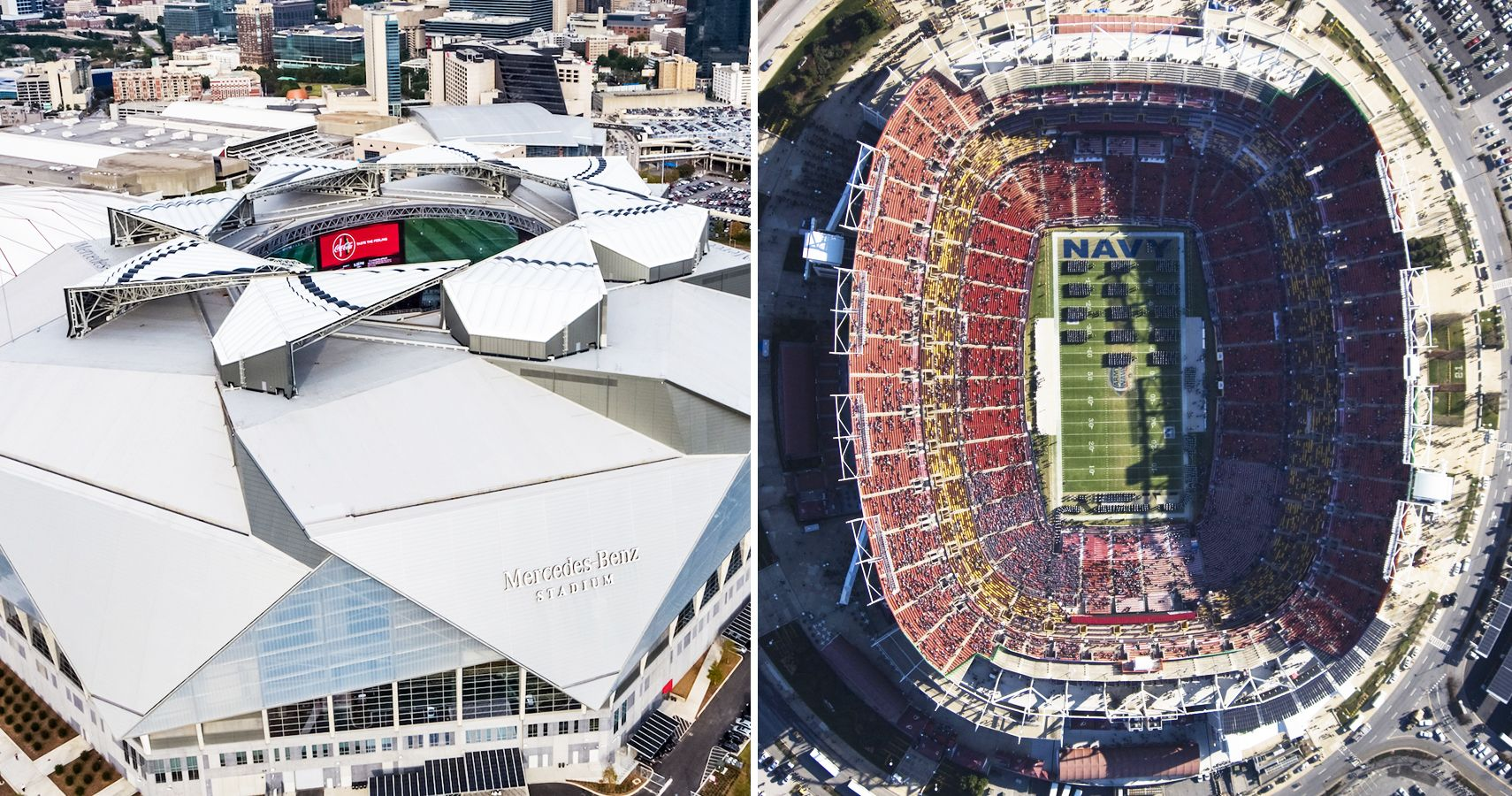 10 Football Stadiums That Have Stunning Aerial Views (And 10 That Look Like Dumps)
