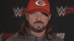 aj styles reaction wwe 2k19 ratings video interview
