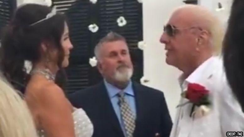 ric flair married wendy barlow video