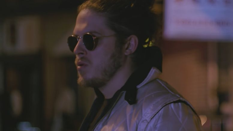joey janela injured gcw outside dive video knee