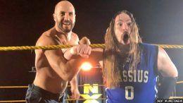 kings of wrestling cesaro kassius ohno chris hero claudio castagnoli reunion reunite nxt live event video