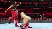 liv morgan knocked out raw video brie bella