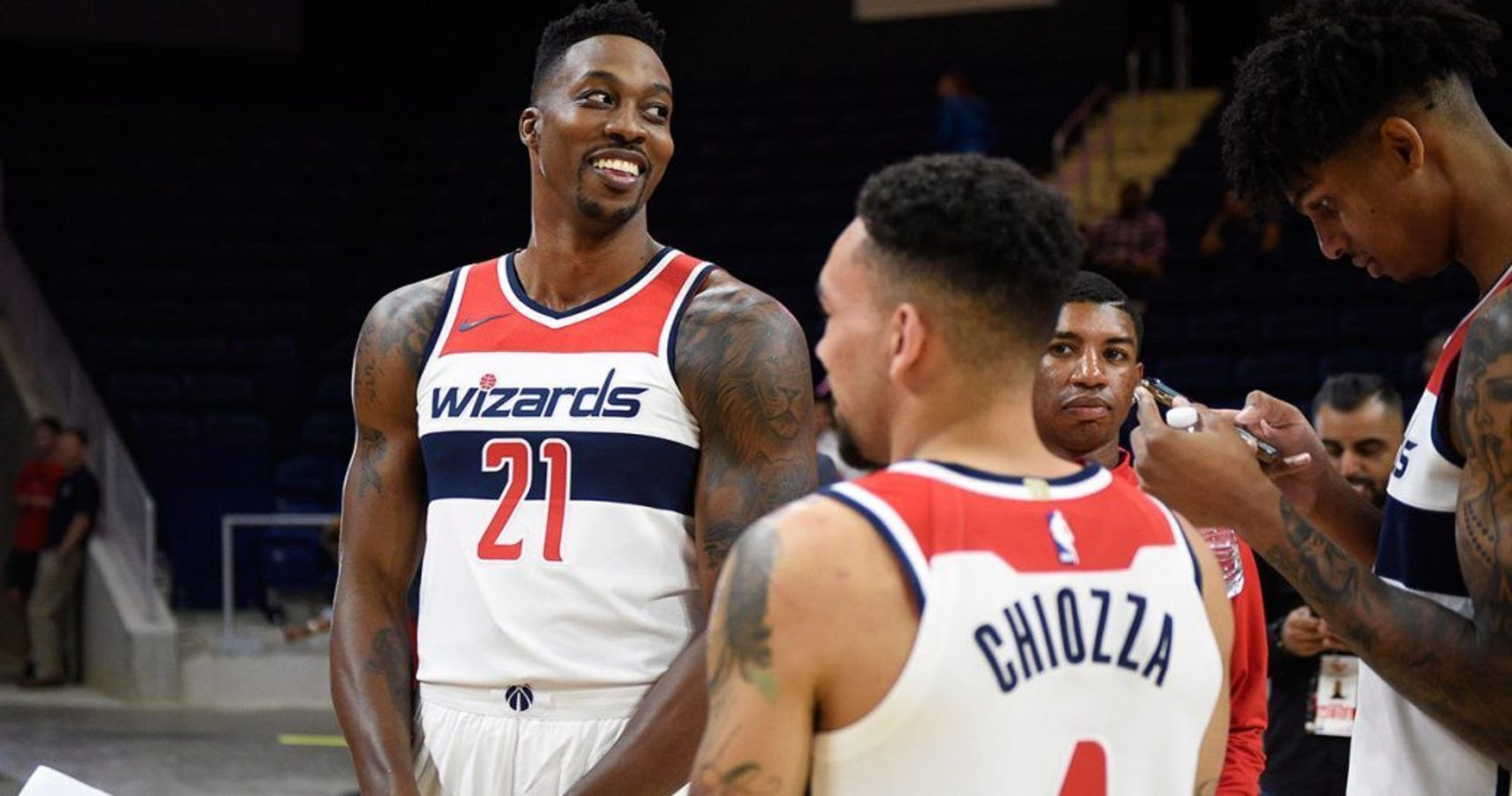 db873a359 Dwight Howard Prepares To Make Wizards Debut Following Back Injury