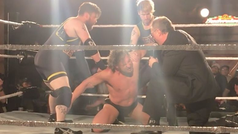 don callis turns kenny omega video heel attack winnipeg