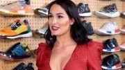 nikki bella sneaker shopping complex video