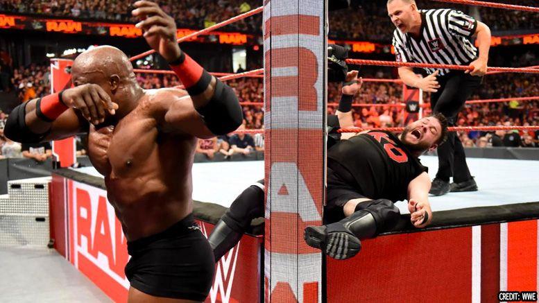 kevin owens injury raw bobby lashley