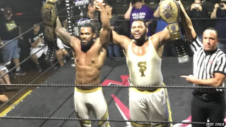 street profits evolve tag team titles video