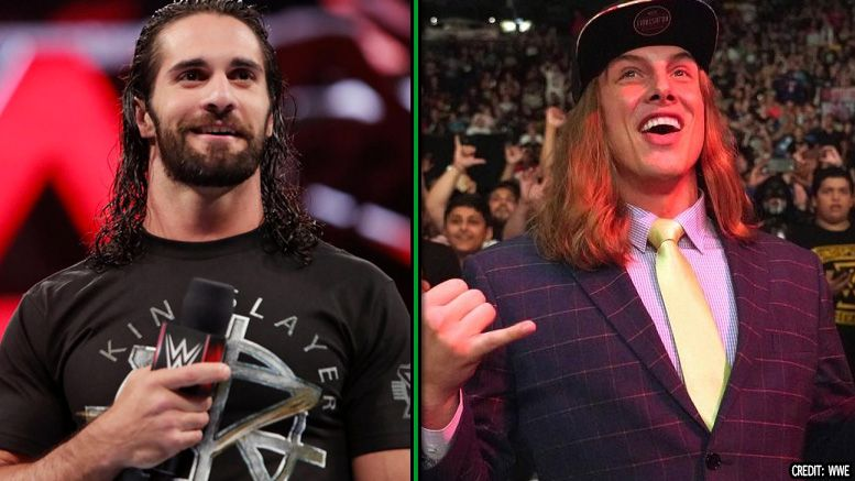 matt riddle seth rollins nxt wwe match wrestle