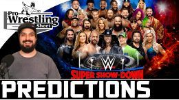 wwe super show down predictions ryan satin video