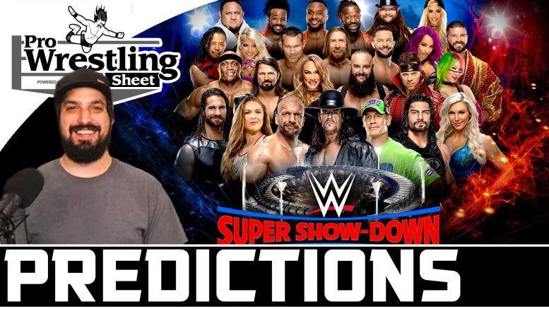 wwe super show down predictions ryan satin video