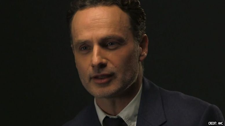 andrew lincoln walking dead exit wrestling