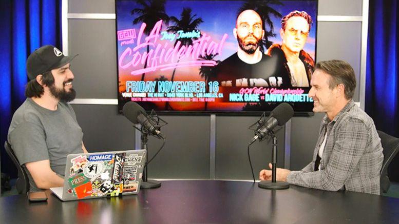 david arquette interview nick gage gcw joey janela la confidential