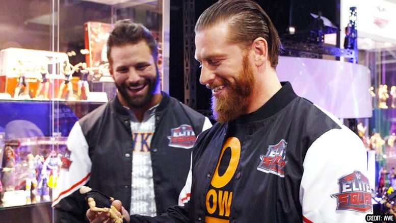zack ryder curt hawkins reunion edgeheads major brothers wwe