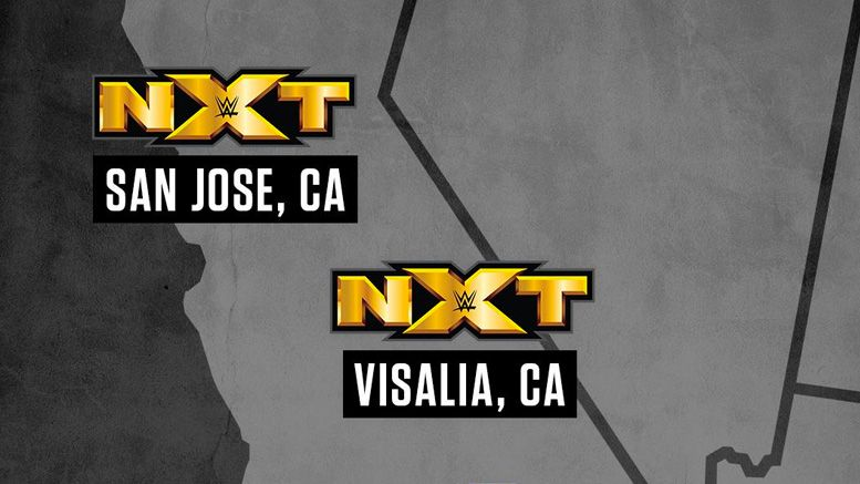 nxt tv taping san jose live event house show