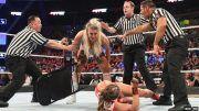 ronda rousey damage face brutal aftermath charlotte flair attack survivor series