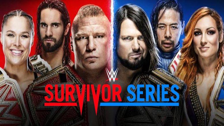 survivor series teams confirmed raw