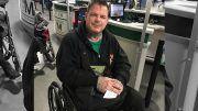 vampiro injured wrestlecade wheelchair unable to walk