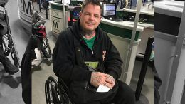 vampiro injured wrestlecade wheelchair unable to walk