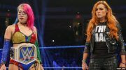 becky lynch asuka royal rumble not official paige announcement