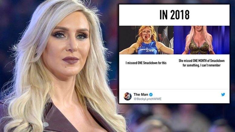 charlotte flair becky lynch implant diss response