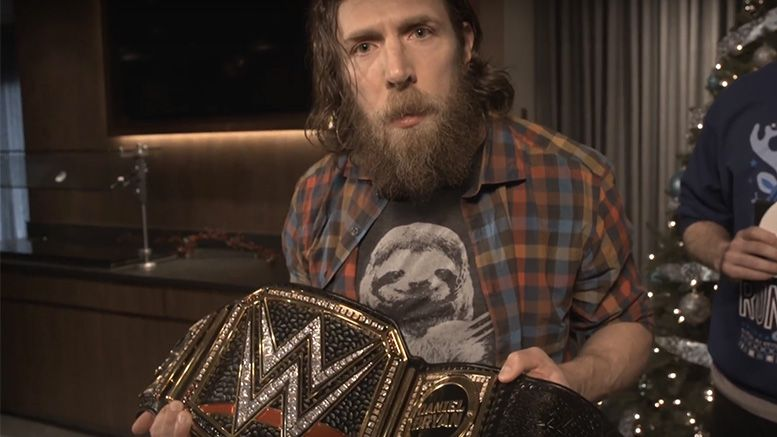 daniel bryan replace leather strap wwe championship tlc
