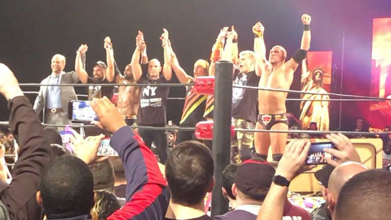 elite farewell ring of honor roh final battle video off the air post-show wrestling