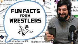 wrestlers fun facts
