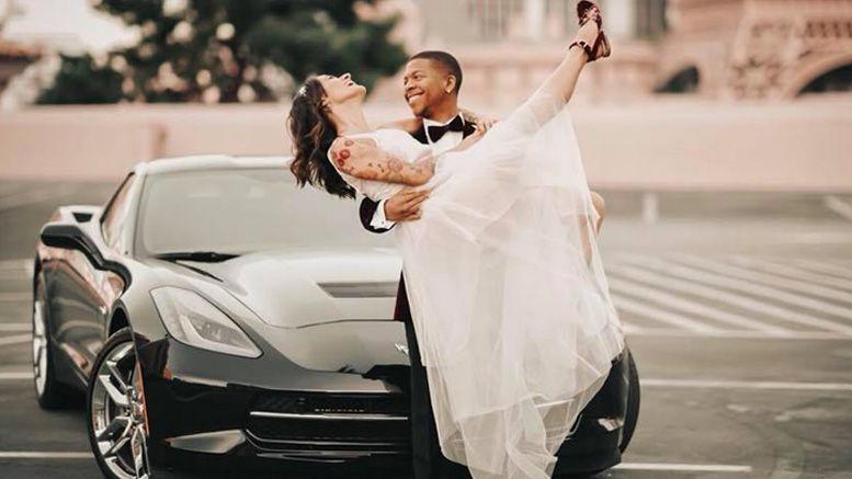 lio rush married las vegas photos