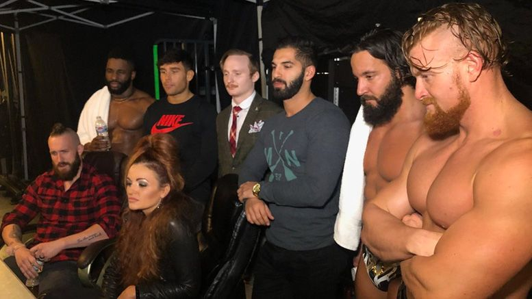 mustafa ali 205 live roster choked up watching smackdown chasing glory lilian garcia